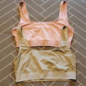 VS Pink Lot of 2 Ultimate Unlined Sports Bras